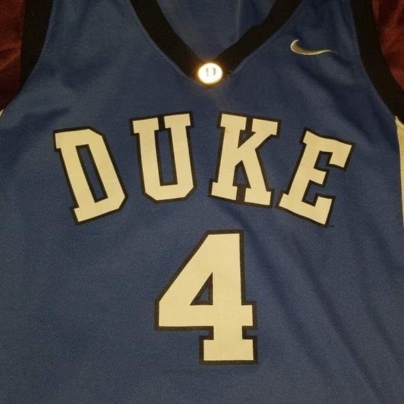 new styles f1b53 32e95 Duke basketball reddick* jersey number 4